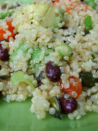 quinoa and avocado salad