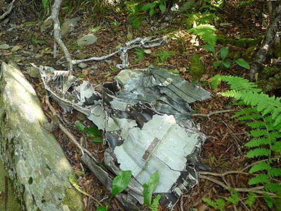 F-4 wreckage