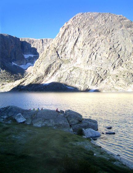 lake cold