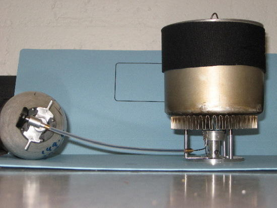 JB550 on stove