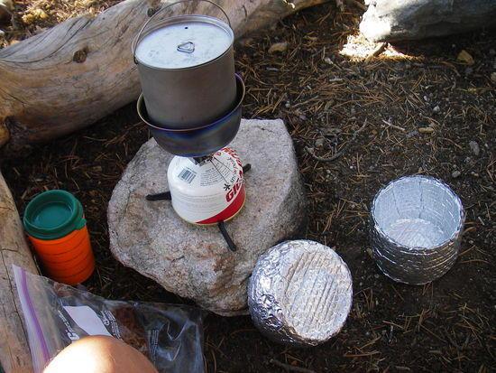 Kitchen - Emigrant Wilderness - Sept. 24, 2008