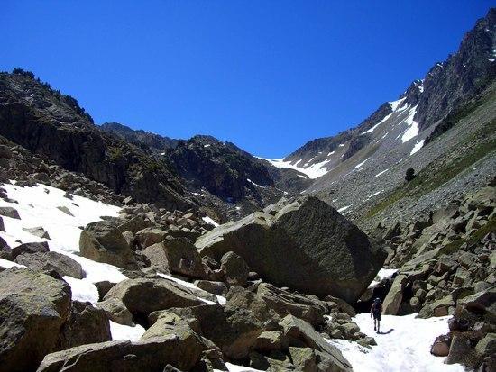 ski tour route