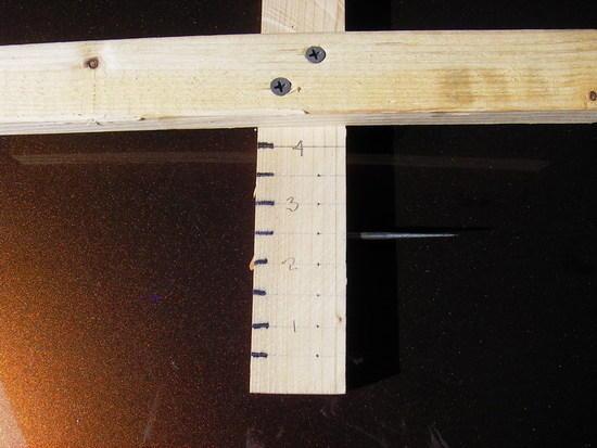 The pot marking tool