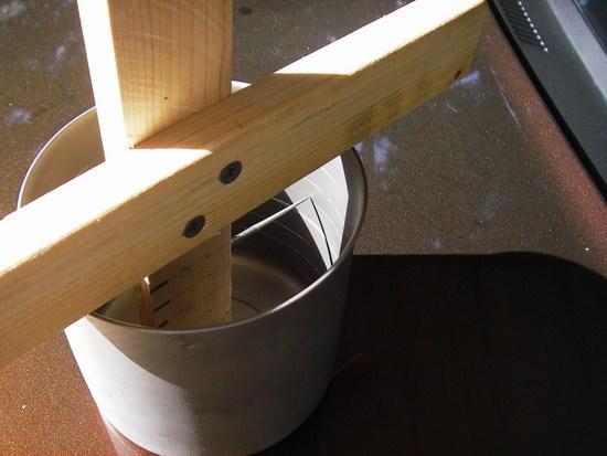 Marking the pot