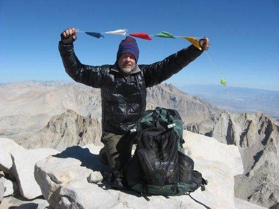 On the summit of Mt Whitney with the ULA Circuit
