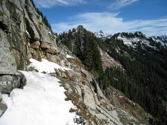 Section of PCT beyond Ridge Lake