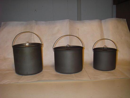 Firelite SUL Pots - Manny Moe and Jack