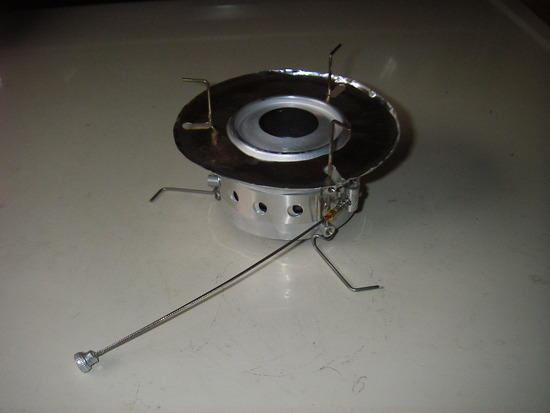 Packfeather Stove with reflector
