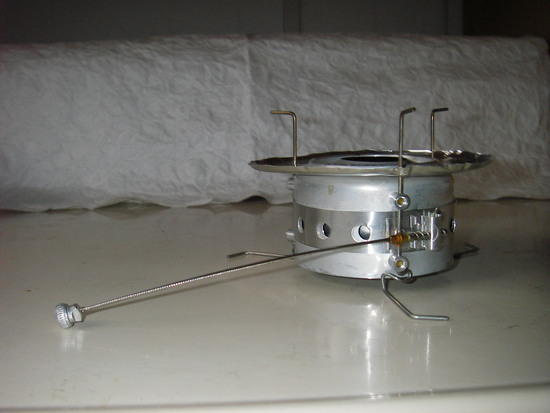 Packfeather Stove side view
