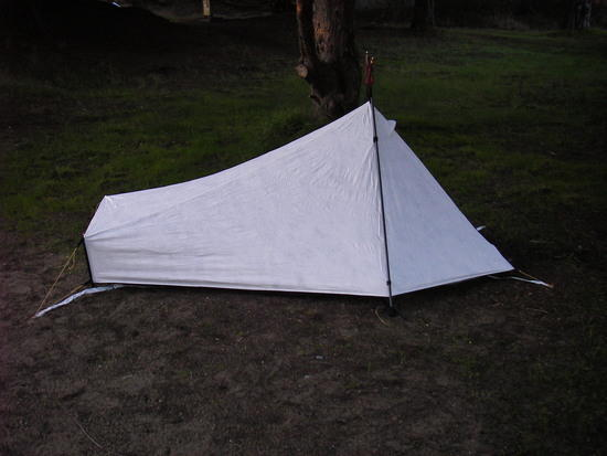 Tarptent Sublite back side view