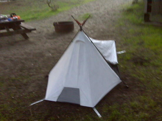 Tarptent Sublite front view