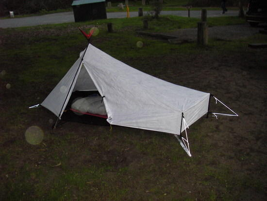 Tarptent Sublite door side