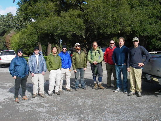 BPL Hikers at Point Reyes
