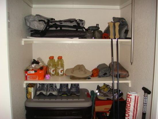 Gear Closet - Lower