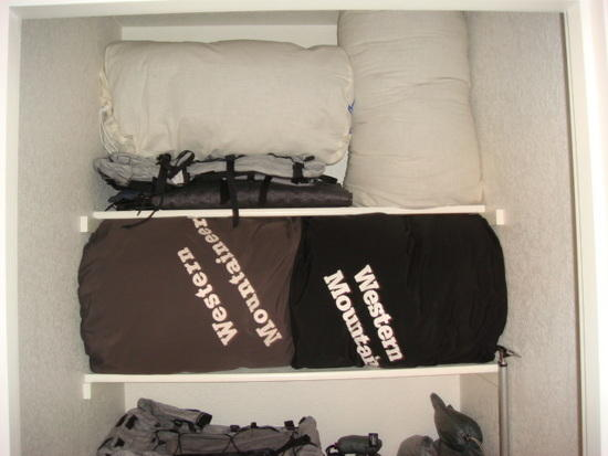 Gear Closet - Upper