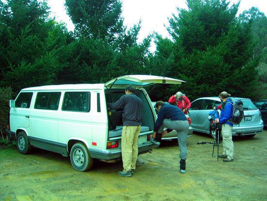 Trail Head Parking Lot