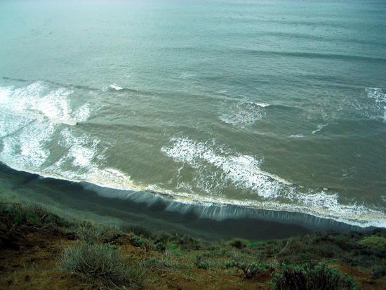 The Beach Below