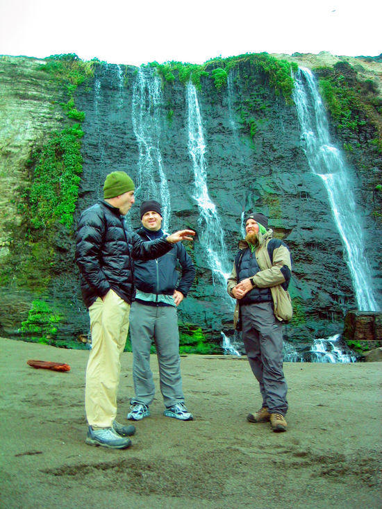 Ken Thompson, Jay, & Josh at Alamere Falls