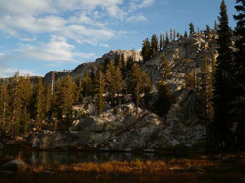 lake at merced pass