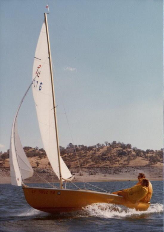 Sailing on Millerton