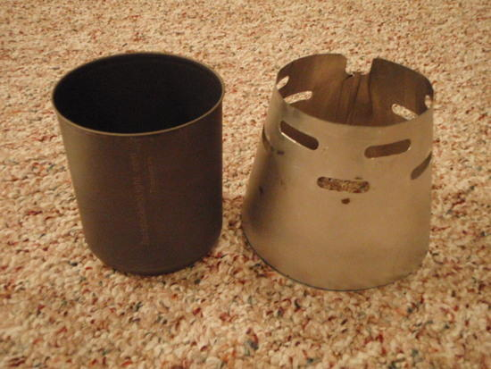Trappers Mug and Modified Caldera Cone