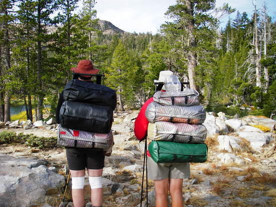 Me and Mike with LuxuryLite Packs
