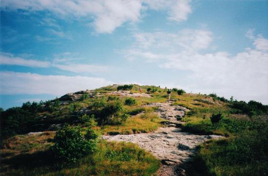 climb up to the top of Black Balsam Knob, Shining Rock Wilderness, NC