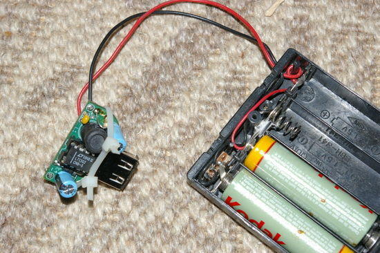 minty boost charger circuit and battery pack.