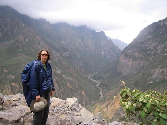 MYOG Poncho at Colca Canyon, Peru