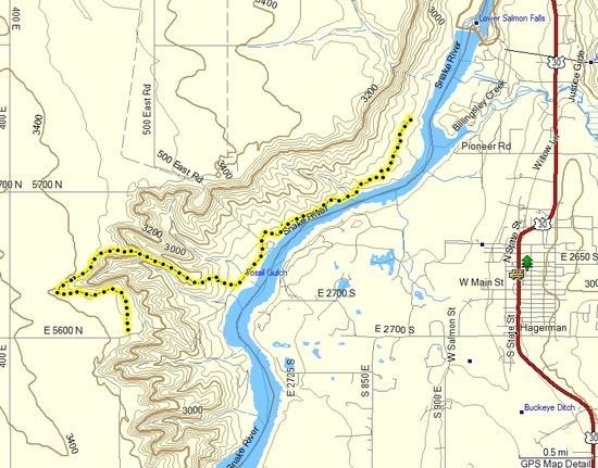 Track Log of Hike