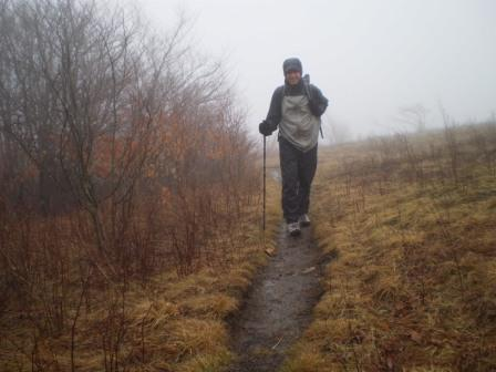 Rainy Hiking