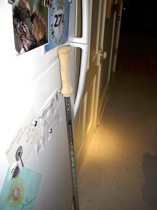 DIY pole
