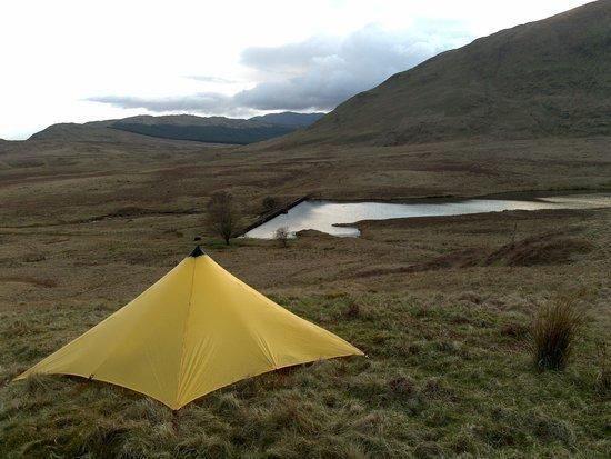 MLD Trailstar in the wilds.