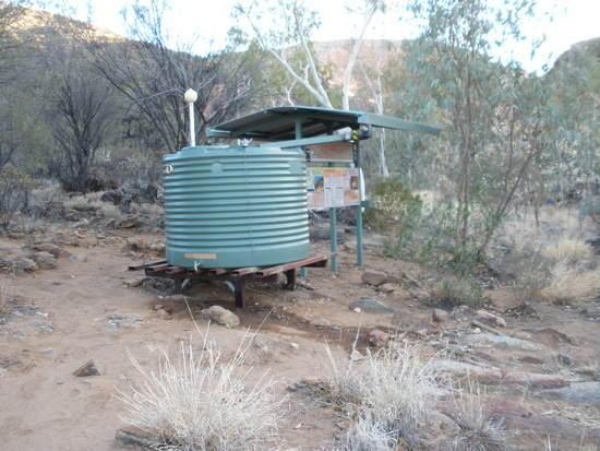 Hugh Gorge water tank