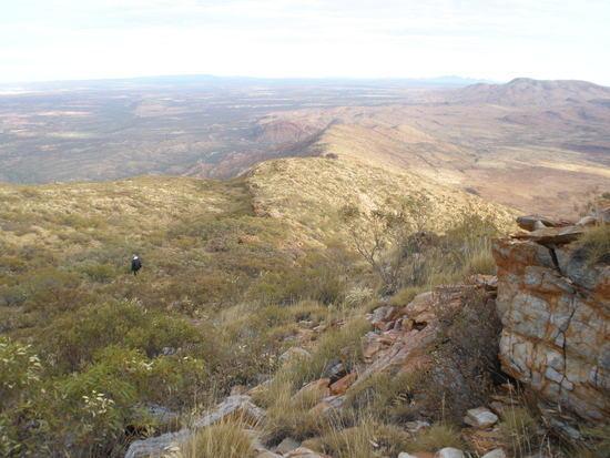 on Mt. Sonder