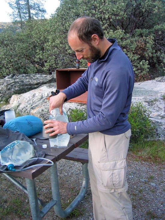 Jeremy Preparing Dinner