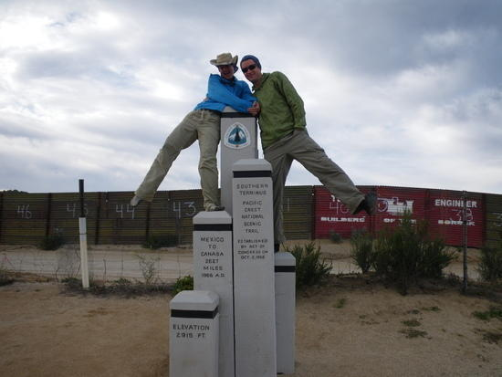 PCT Southern Terminus Monument