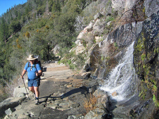 Bob Passing Along on the Trail