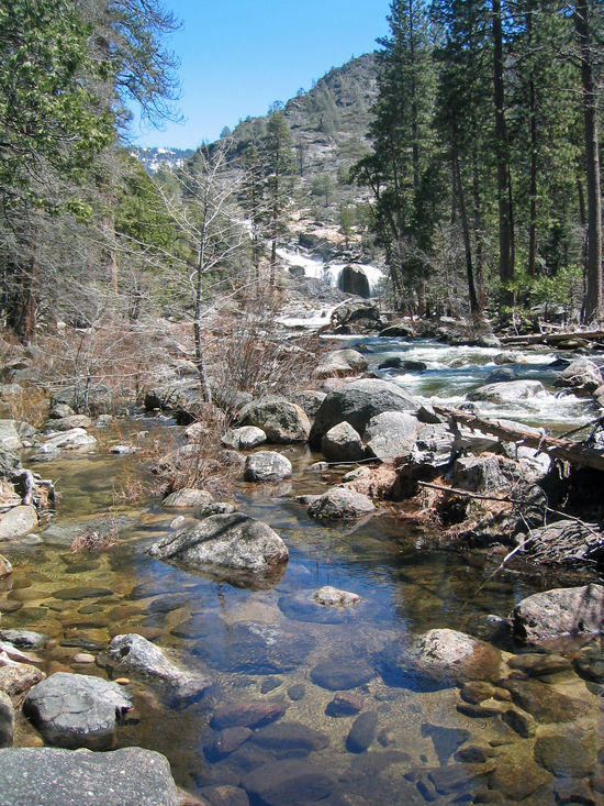 Rancheria Falls in the Distance