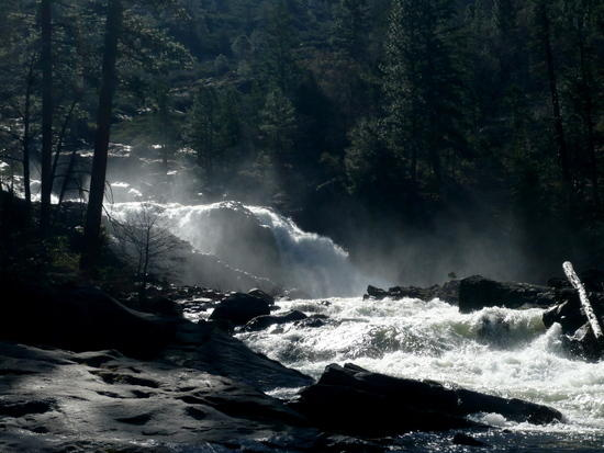 Closer Look at the Falls