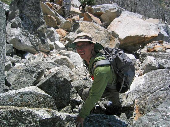 Tony Dancing on Rocks