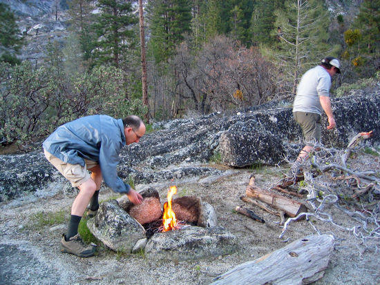 Lane & Cary Building the Fire