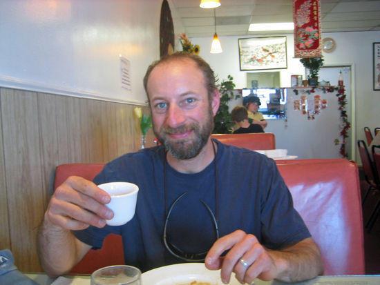 Jeremy Settles for Tea over Beer