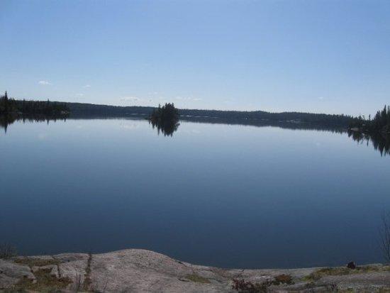 Mantario lake campsite