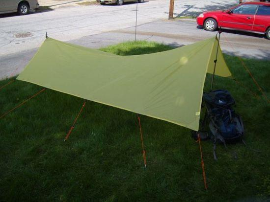 Nice Yellow Spinnaker Tarp