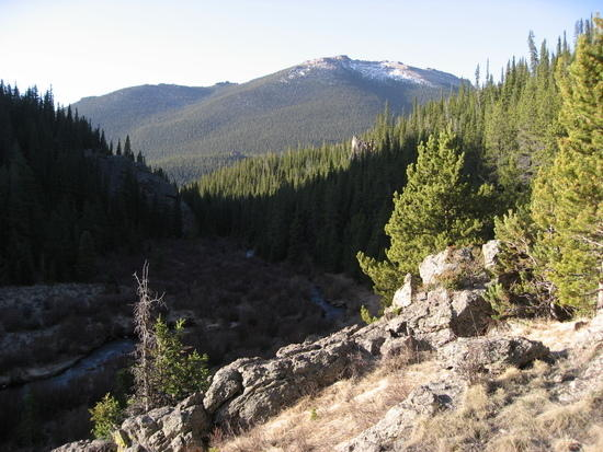Western Edge of East Lost Park, Lost Creek