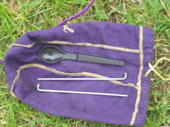 motorcycle spoke tent pegs