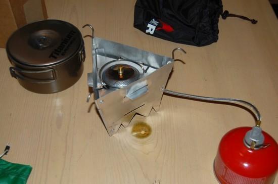 Dual fuel stove 1