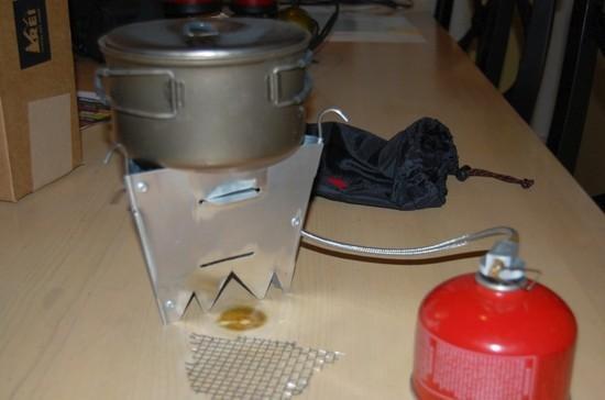 Dual fuel stove 3