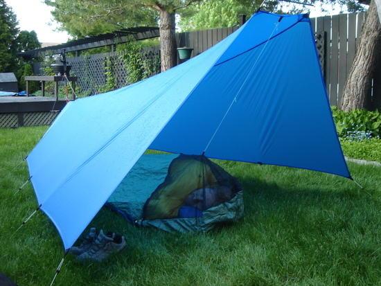 bivy under tarp